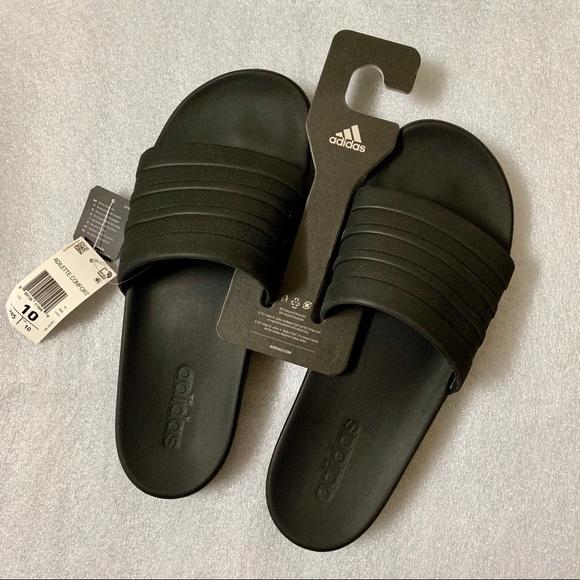 746f8f57c5466a New Men s Adidas Adilette Comfort Sandal US 10 Blk